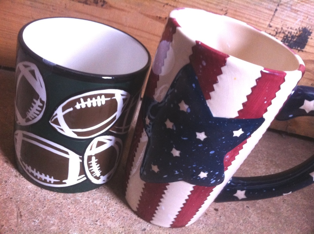 Our cups.