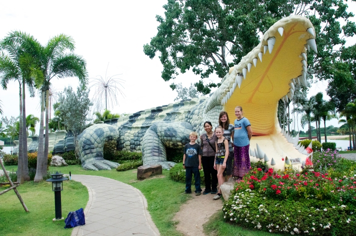Visitors to the city of Phichit, Thailand, will see monuments and statues of crocodiles wherever they go. The crocodiles, idolized by many in the province, represent an ancient Thai fable based on a powerful crocodile who turned himself into a man and married a local woman.