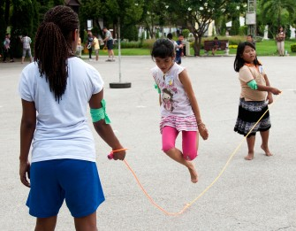 Kids love to jump rope!