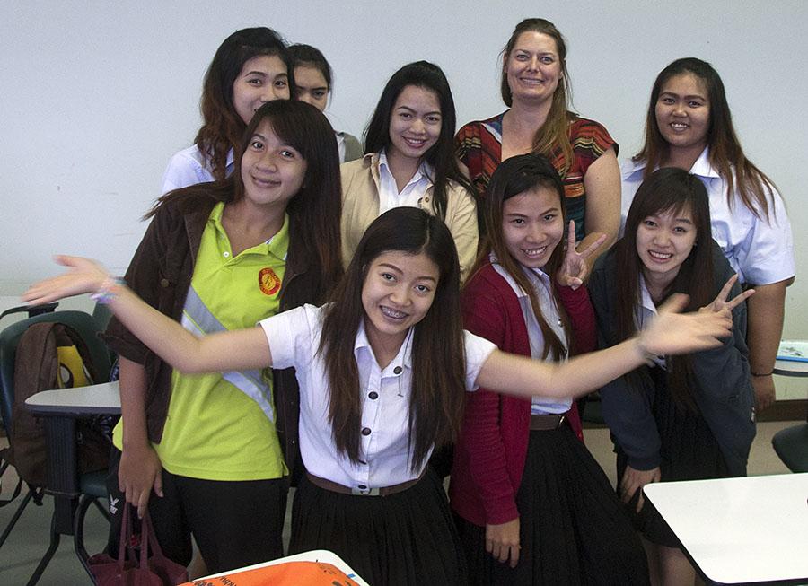 New friends from Phetchabun Rajabhat University