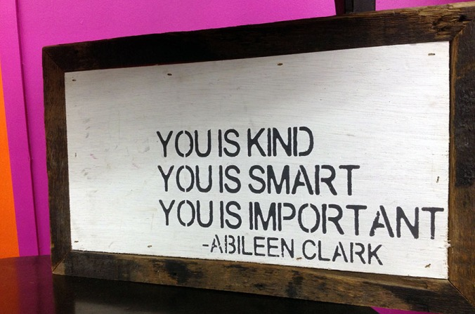 You is kind smart important