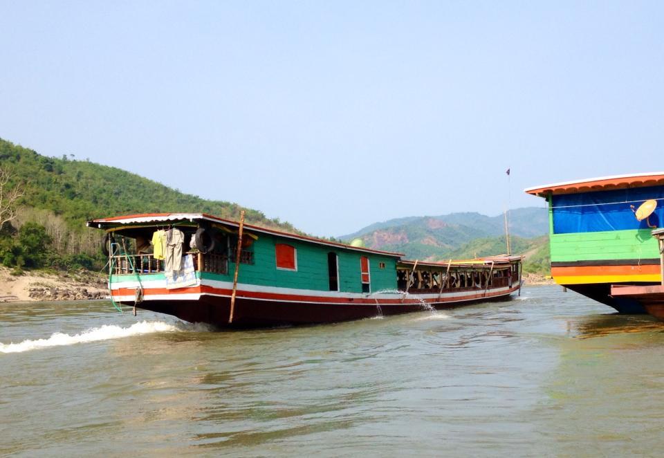 1boat on mekong