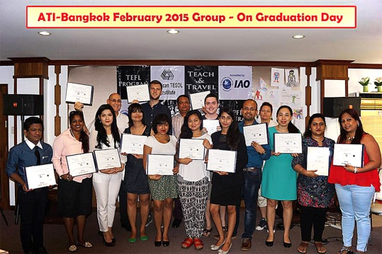 Our TEFL class on graduation day. I made new friends from all over the world, including India, Russia, Ireland, Mongolia, Vietnam, England and America.