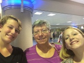 A safe arrival and greeting from grandma!
