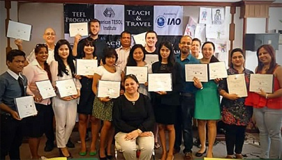 I finally received my Teaching English as a Foreign Language (TEFL) certificate! Now, I can teach in many countries!