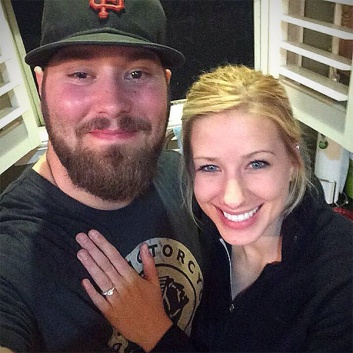 Joseph and Kelsi got engaged!