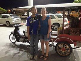 Don has served us as our tuk tuk driver every time we've visited Phnom Penh. His is a true testimony! A tuk tuk driver turned evangelist. When he picked me up, he brought a friend with whom he has been sharing the hope of Jesus. He was so excited as he introduced me and told me all the things that have been happening. Pray for Don. He has a new baby (he and his wife's third), and he works very hard to take good care of his family.